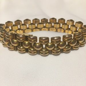 Panther link 5 row bracelet made in Switzerland
